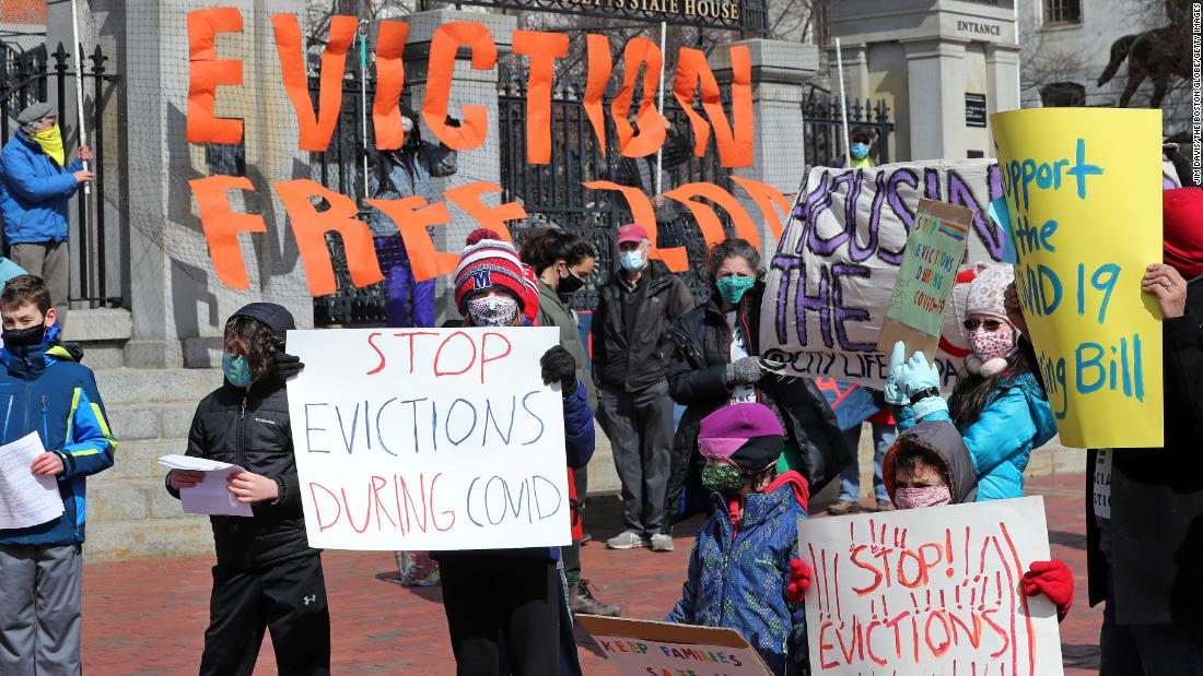 Democrats increase pressure on party leadership to act on eviction moratorium as Biden shifts focus to federal aid