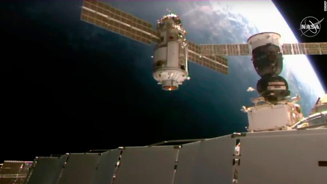 International Space Station briefly loses control after new Russian module misfires