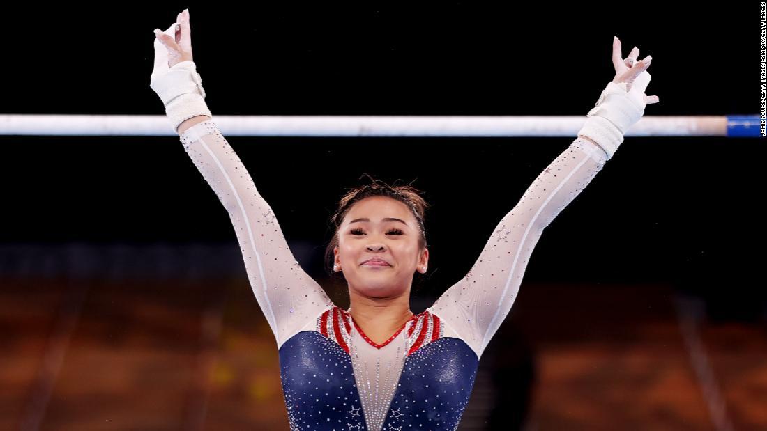 Sunisa Lee wins all-around gymnastics gold at the Tokyo Olympics
