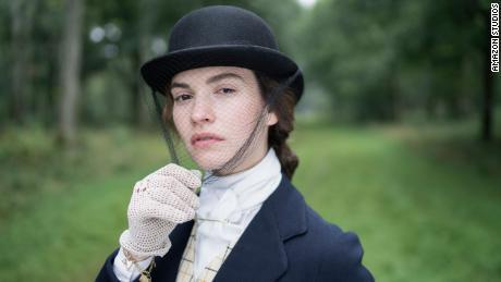 Lily James dans «La poursuite de l'amour».