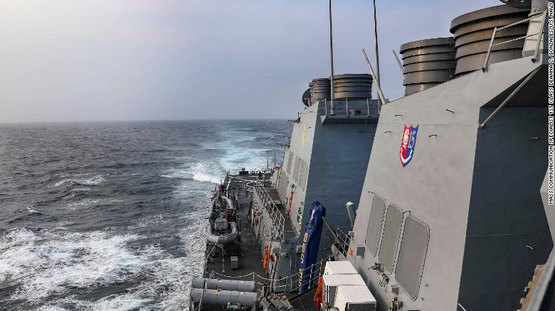 US sails ship through South China Sea days after China institutes new maritime ID rules