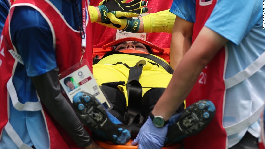 Connor Fields 'is awake' after horror BMX crash