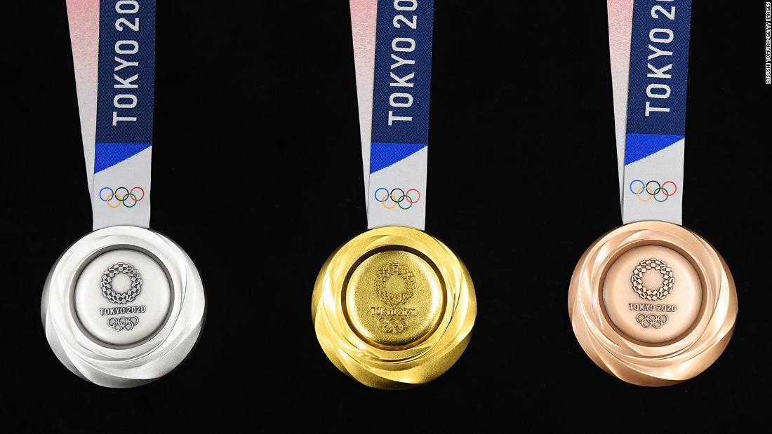 How much are Olympic medals worth?