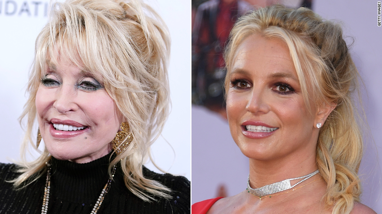 Dolly Parton supports Britney Spears and can relate