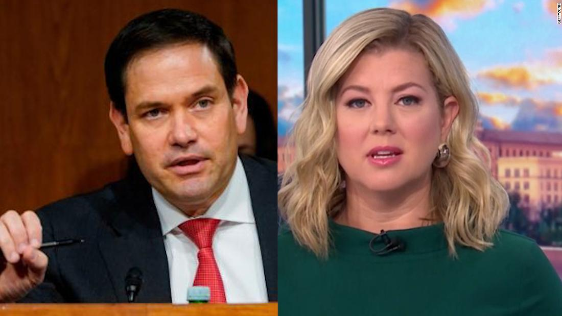 CNN's Keilar: Rubio took a swing, missed and hit himself in the face