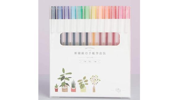 0.5 Janpan Style Gel Color Journal Planner Pen