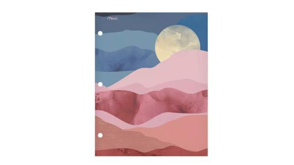 Paper Portfolio 2-Pocket Modern Landscapes Moon - Mead