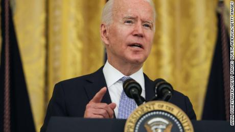 The White House is once again making Covid-19 the focus of Biden's schedule