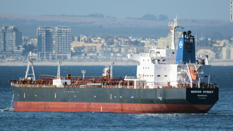 Deadly drone attack on tanker was in retaliation for Israeli strike, says Iranian state TV