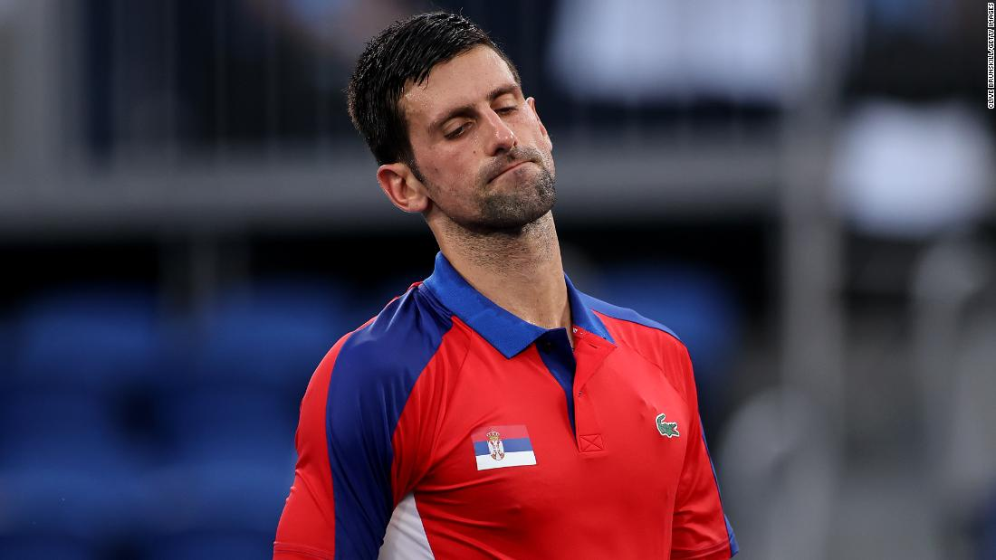 Novak Djokovic's search for 'Golden Slam' comes to end at Tokyo 2020