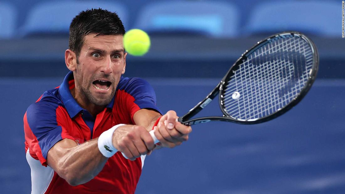 Novak Djokovic's search for 'Golden Slam' comes to an end at Tokyo 2020