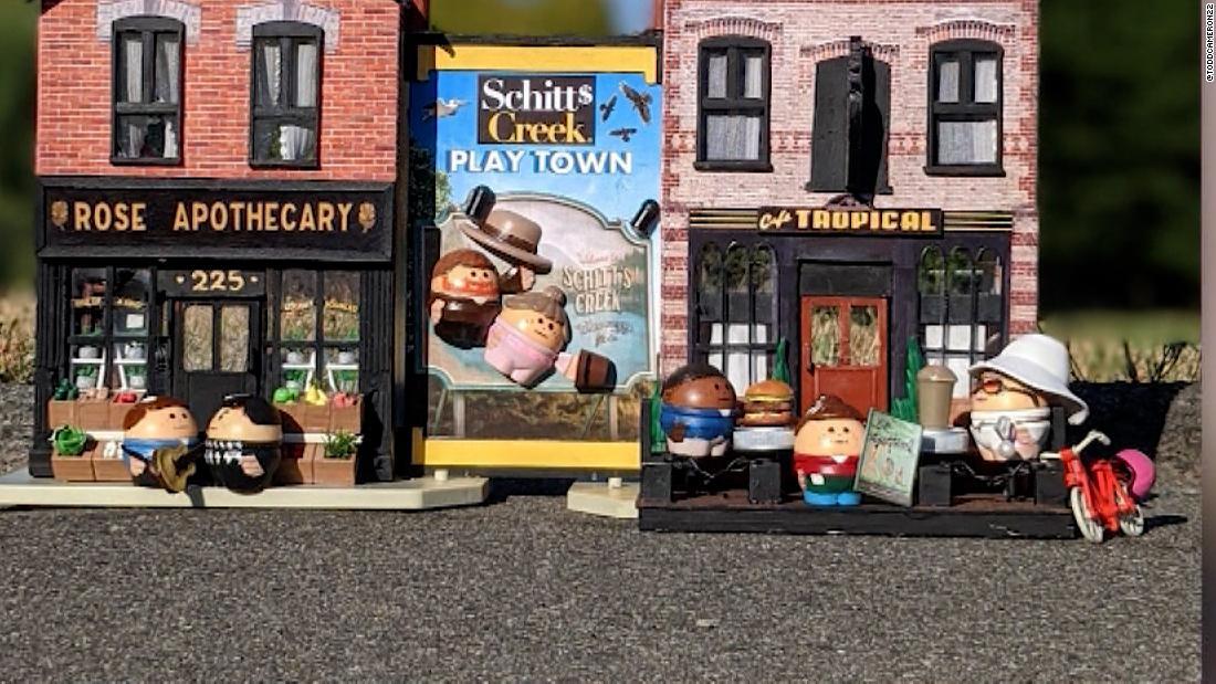 Man's 'Schitt's Creek'-inspired toys get him a Netflix deal