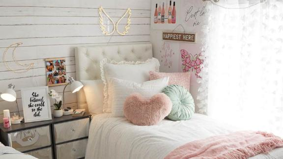 Dormify White Shiplap Printed Removable Wallpaper