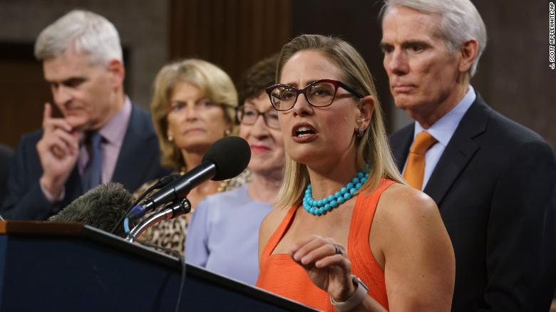 Sinema strikes big bipartisan infrastructure deal and suffers a Democratic backlash