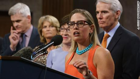 Sinema seals major bipartisan infrastructure deal and suffers Democratic backlash