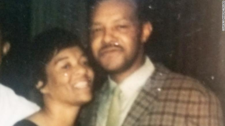 Martha and Lehman Tucker after they were married.