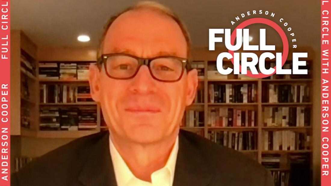 Author Daniel Silva tells Anderson why he became a character in 'The Cellist'