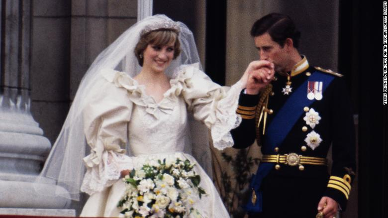 A slice of Princess Diana's wedding cake is going up for auction