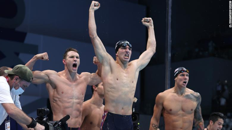 Caeleb Dressel, Bobby Finke are part of a winning Sunday for Team USA men's swimming at the Olympics