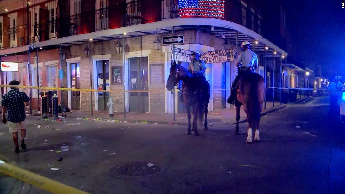 5 wounded in early morning shooting near Bourbon Street in New Orleans, police say