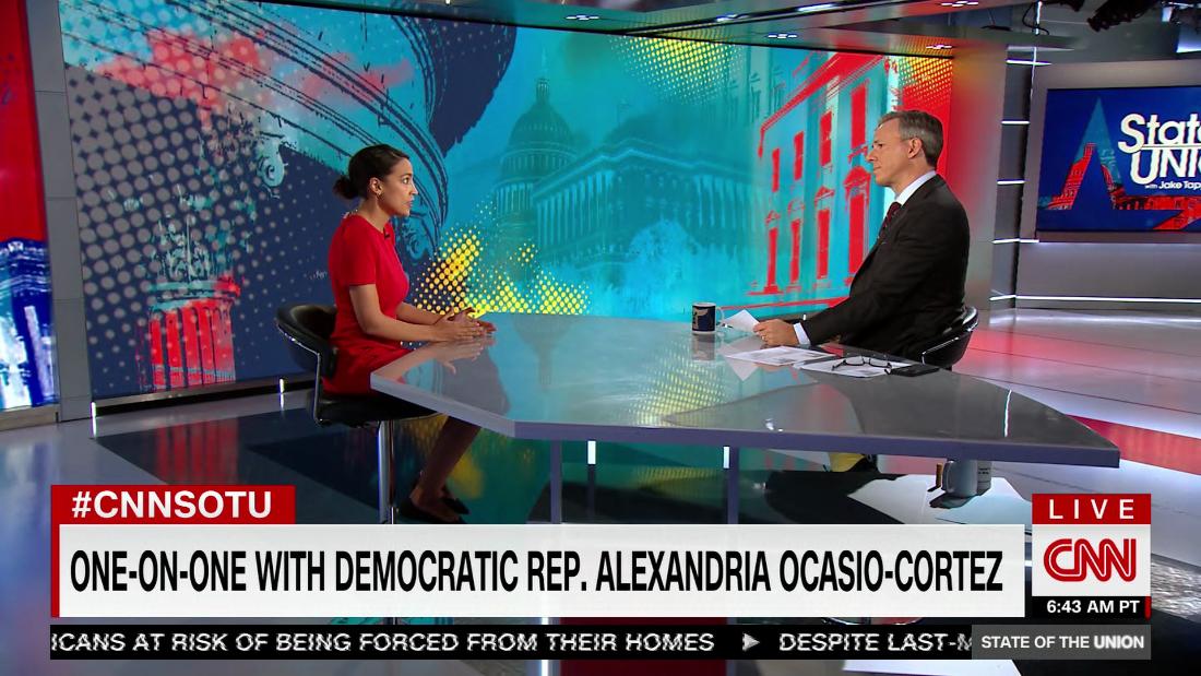 Ocasio-Cortez: We won't pass infrastructure deal without reconciliation - CNN