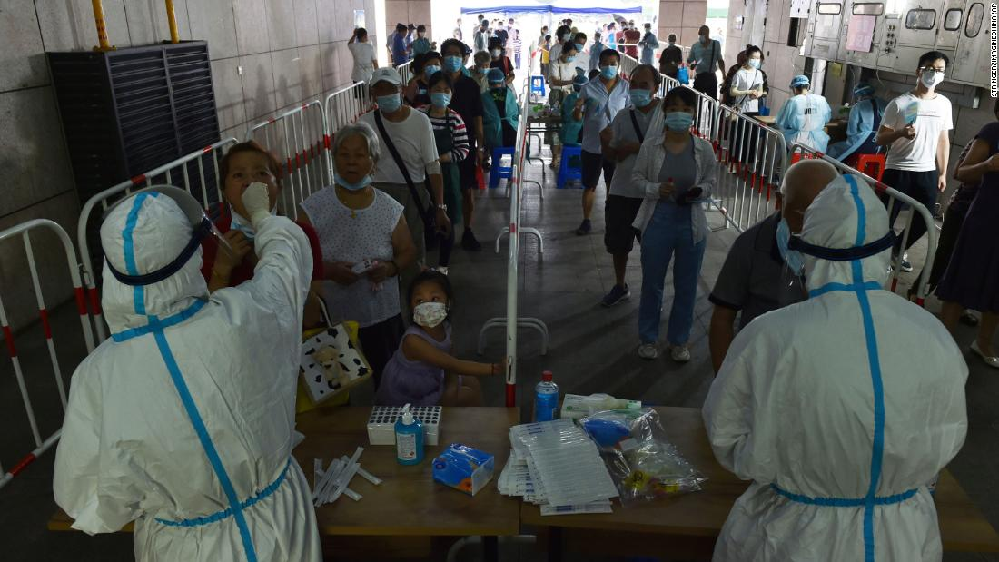 Delta variant challenges China's 'zero Covid strategy' — and raises questions over its vaccine efficacy