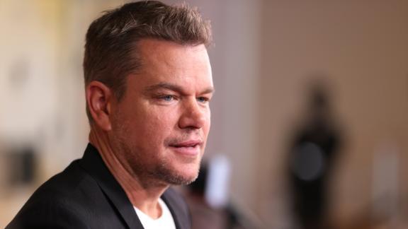 Matt Damon assiste à la