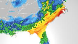 It is going to be a wet week on the seashore alongside the Gulf and East coasts