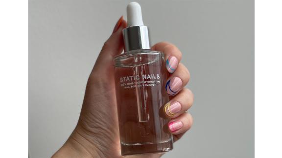 Static Nails 100% Non-Toxic Hydrating Nail Polish Remover