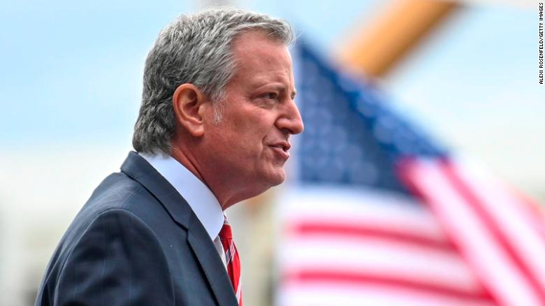 NYC Mayor Bill de Blasio could owe city big bucks for NYPD security work on his 2020 presidential campaign