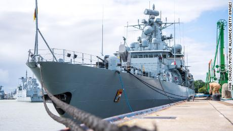 German warship heads to South China Sea for first time in nearly two decades amid tensions with Beijing