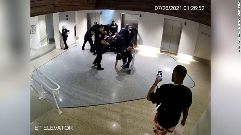 5 Miami Beach officers face charges after the alleged use of excessive force during arrest inside hotel