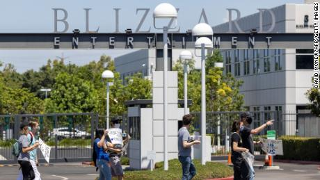 Activision Blizzard employees accuse company of unfair labor practices