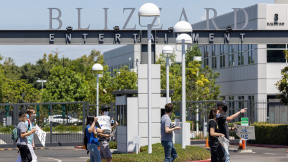 Dozens of Activision Blizzard employees staged a walkout last week to protest the company's policies and response to the lawsuit.