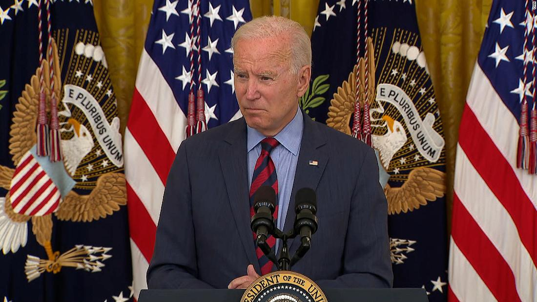 'He should resign': Biden reacts to Cuomo allegations