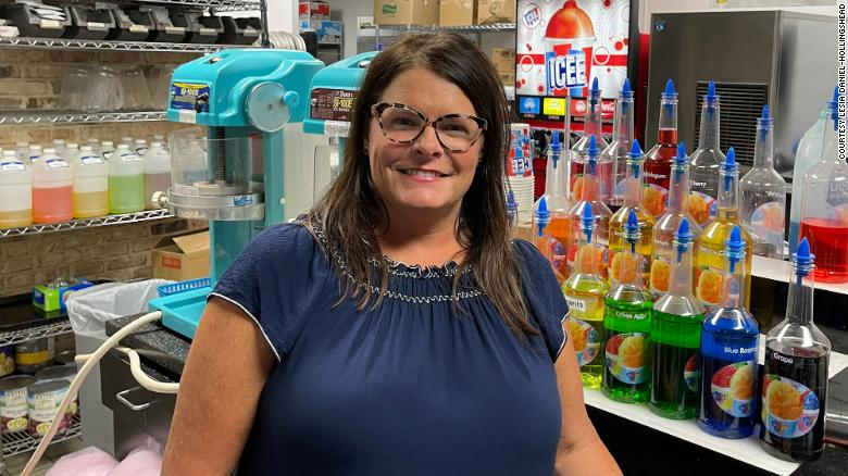 Lesia Daniel-Hollingshead, co-owner of child care and education company FuntimeClinton in Mississippi, made a call ahead of the CDC's revised guidance to ask employees to mask again regardless of vaccination status.