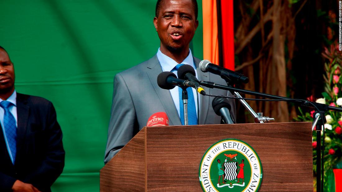 Zambian president deploys military amid pre-election violence