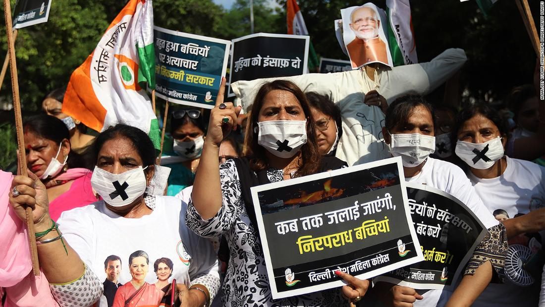 India, Delhi: Protests after 9 year-old Dalit girl allegedly raped and murdered