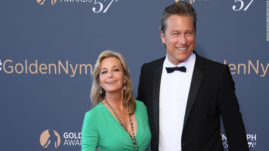 John Corbett says he and Bo Derek are finally married after 20 years together