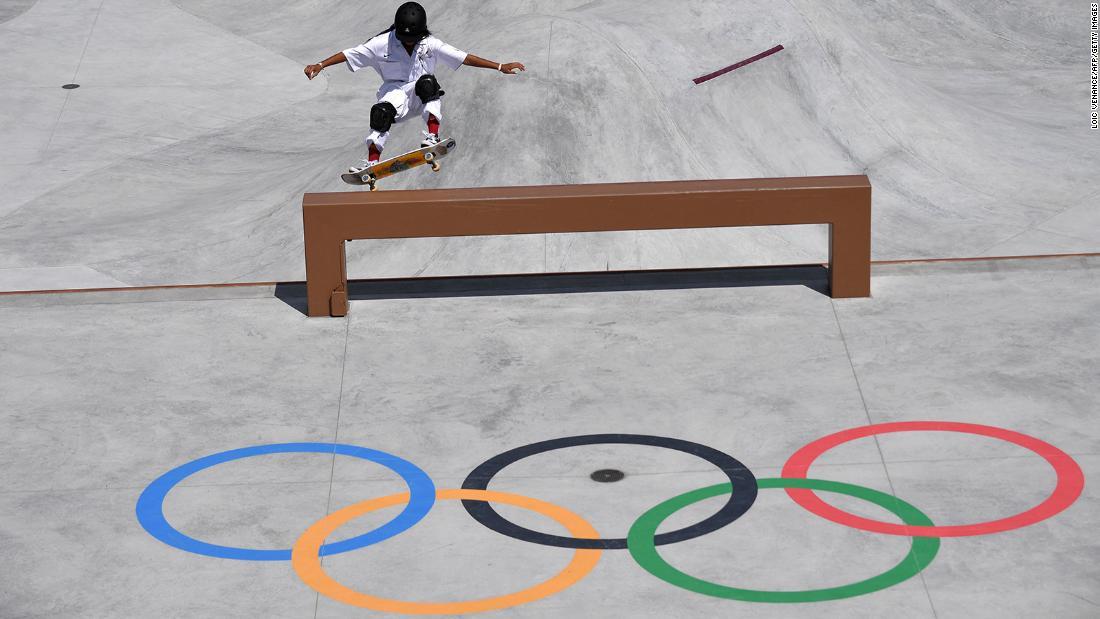 Skateboarder, 12, just became the youngest Olympic medalist in 85 years