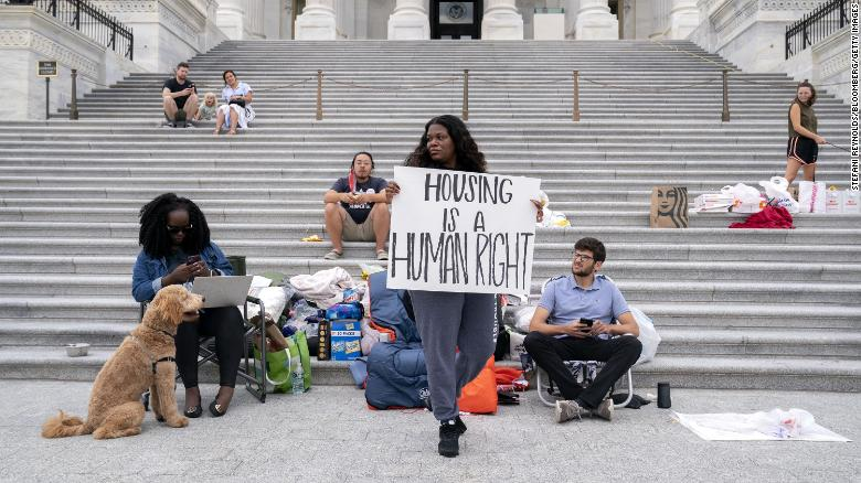 Freshman Rep. Cori Bush in national spotlight for her activism to fight eviction