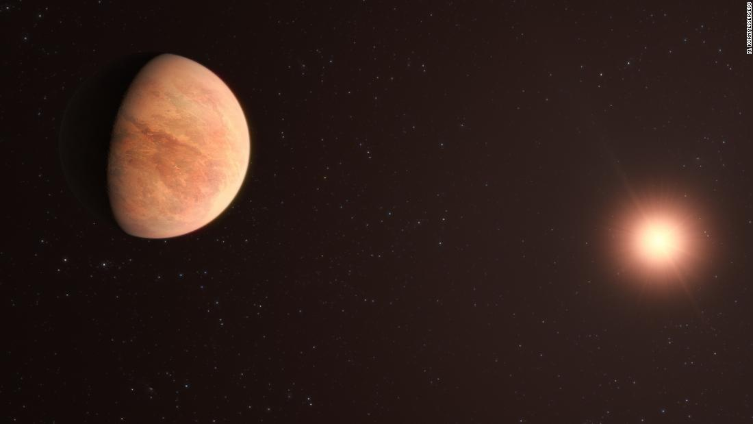 Planets similar to those in our solar system found around nearby star