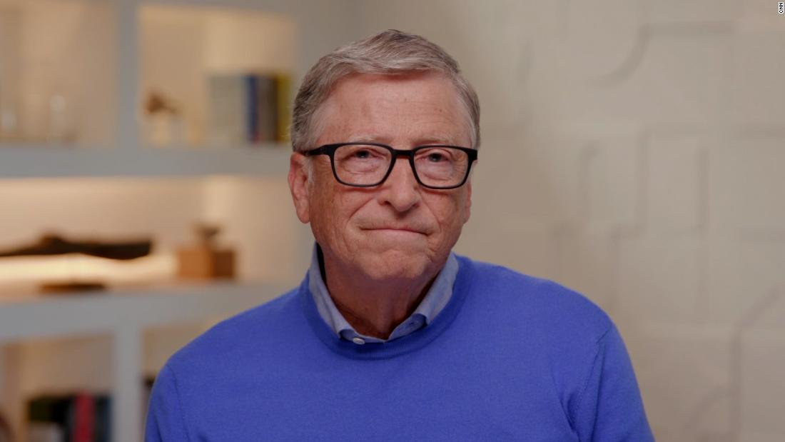 Bill Gates speaks out on his divorce
