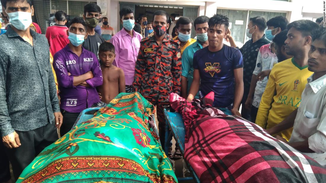 Seventeen die after lightning strikes wedding party in Bangladesh