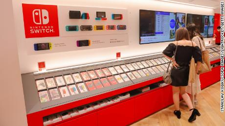 Nintendo Switch sales slump as peak pandemic streak wears off