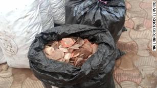 Nigeria seizes record $54 million in pangolin parts, elephant tusks