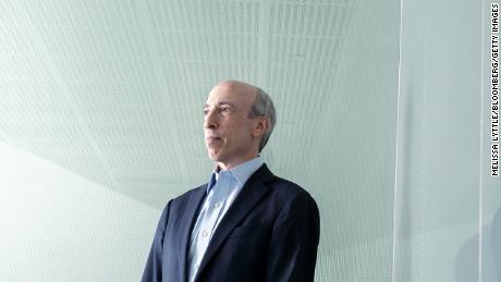 Gary Gensler, président de la Securities and Exchange Commission des États-Unis.