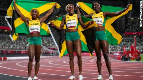 'I think we represent the hope of so many girls from the country': Team Jamaica's stellar sprinters on inspiring the younger generation at Tokyo 2020