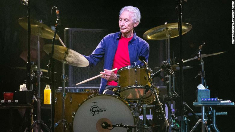 Rolling Stones drummer Charlie Watts to miss band's upcoming tour