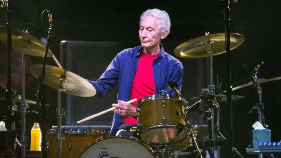 The Rolling Stones drummer Charlie Watts, here in 2019, will miss part of an upcoming tour with the group.